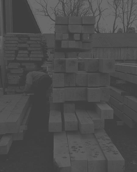 Oak timber frame construction